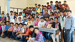 Exhibition organized by the Department of Mechanical Engineering